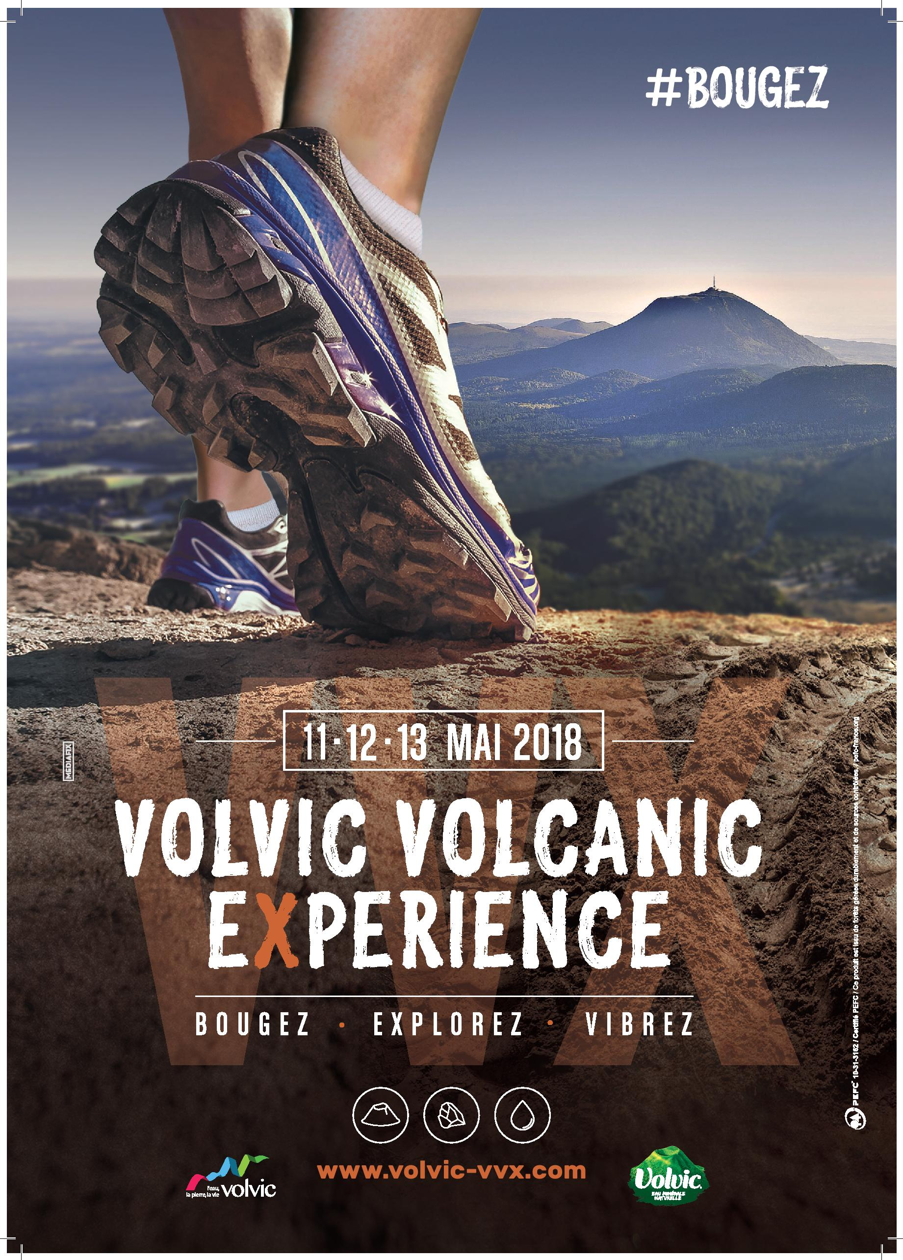 Volvic Volcanique Experience 11/12/13 mai 2018